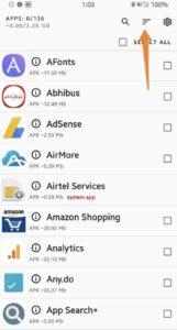 Controlla le ultime app installate su Android