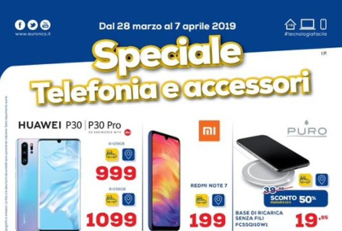 Volantino euronics speciale telefonia valido fino al 7 aprile for Offerte mobile