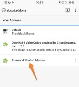 Installa l'add-on Ghostery per Firefox