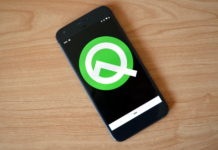 Android Q Smartphone Logo