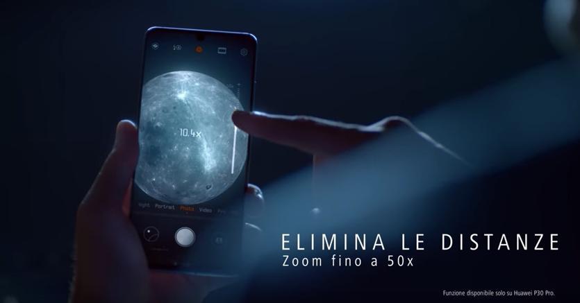 Foto Luna Huawei P30 Pro è Falsa