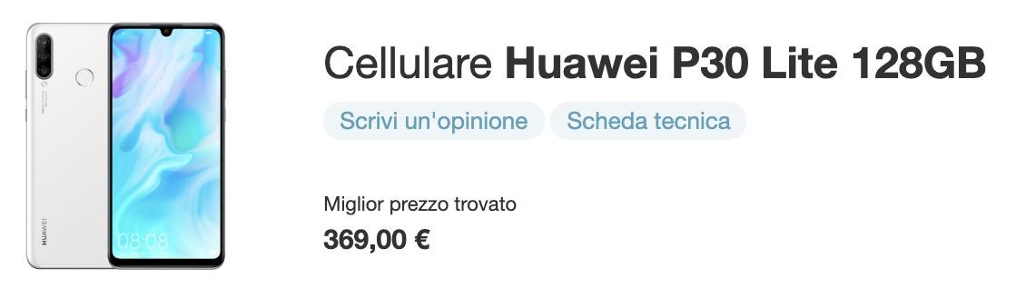 Huawei P30 Lite Miglior Prezzo