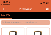 IPTV iPhone