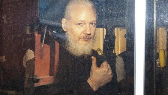 Julian Assange arrestato