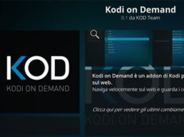 Kodi On Demand alternativa a Stream On Demand