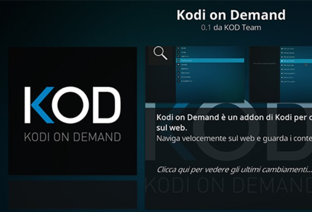 Kodi On Demand alternativa a Stream On Demand