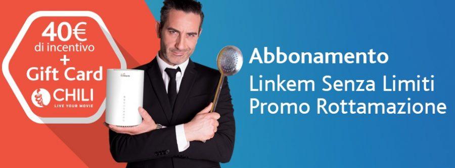 Linkem ti offre 40 euro per rottamare la tua vecchia connessione