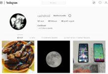 Instagram Home Profile