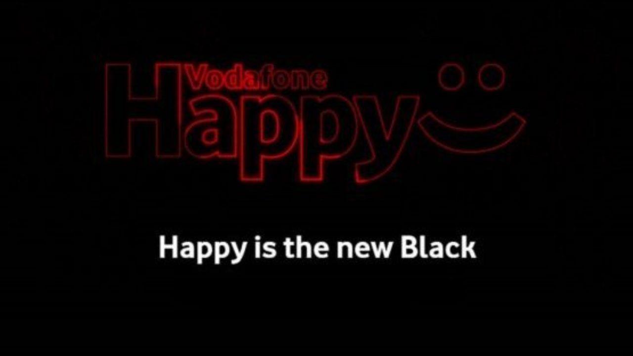 Vodafone Happy Black è Ufficiale Prezzo Come Funziona