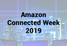 Amazon Connected Week Maggio 2019