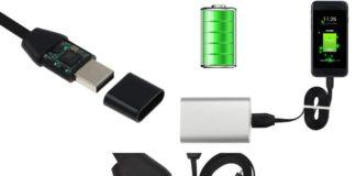 Cavo USB Microspia con Microfono e SIM