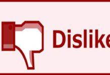 Chi mette dislike su YouTube