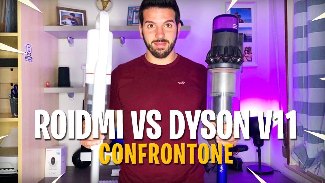 DYSON V11 ABSOLUTE vs ROIDMI F8