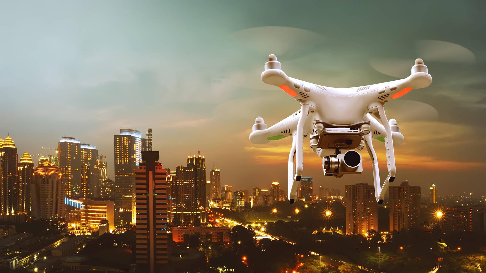 Droni DJI rilevano aerei ed elicotteri