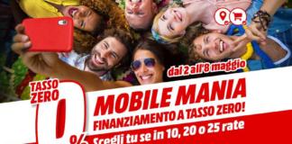 Volantino MediaWorld Mobile Mania 2-8 maggio