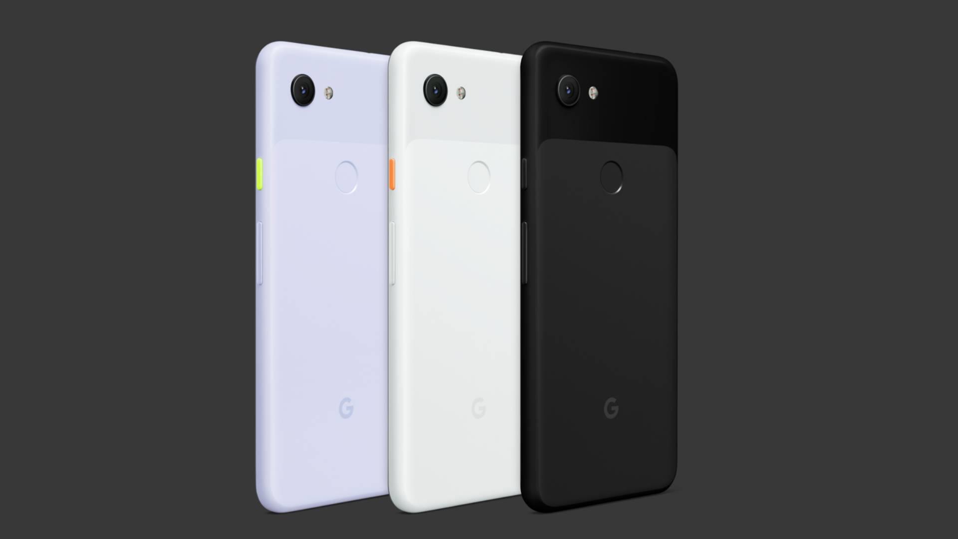 Pixel 3a e 3a XL