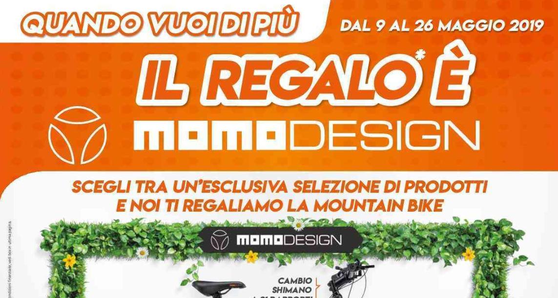 Regalo Bici Momodesign Expert maggio 2019