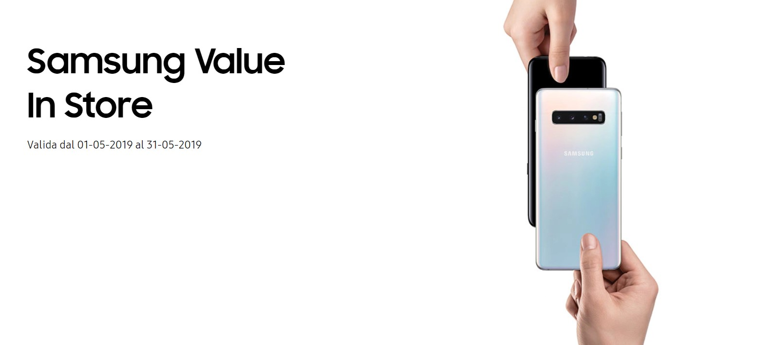 Samsung Value Promo Galaxy S10