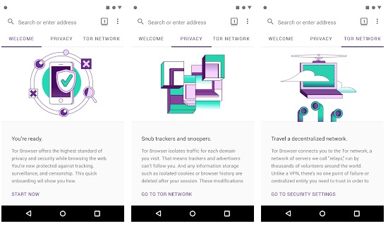 Tor Browser per Android