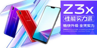 Smartphone Android Vivo z3X