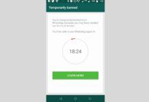 WhatsApp blocca temporaneamente gli utenti di GBWhatsApp