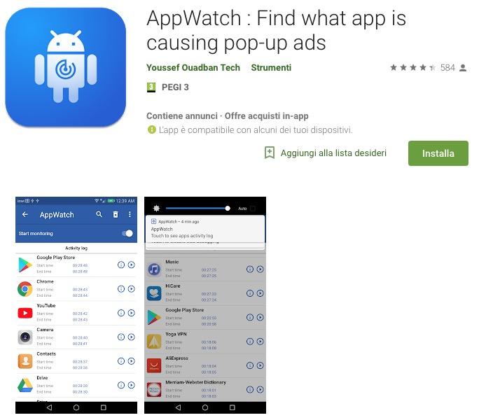 Come eliminare le notifiche pubblicità su Android