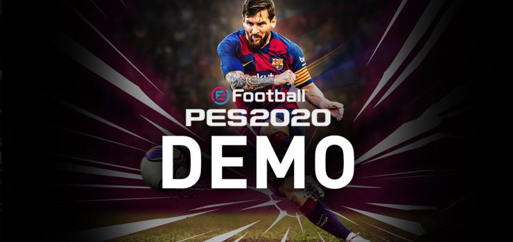 Demo PES 2020 PS4, Xbox One e PC