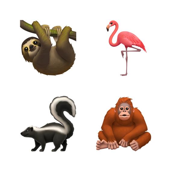 Emoji Animali iOS 13