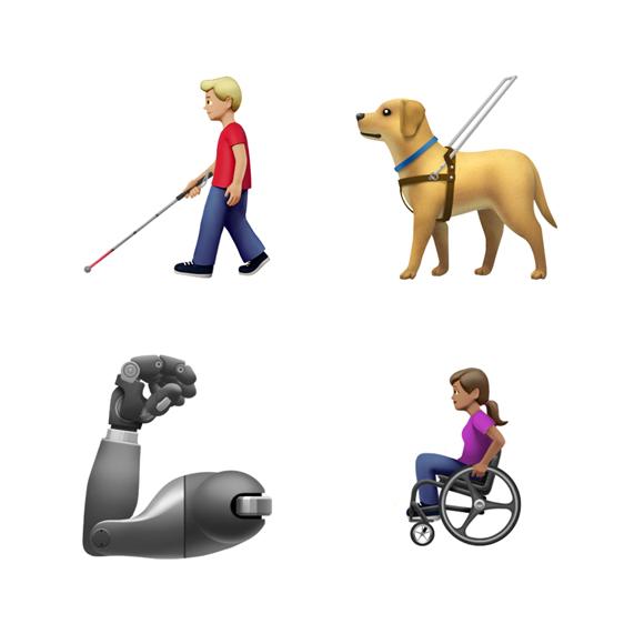 Emoji Disabili iOS 13