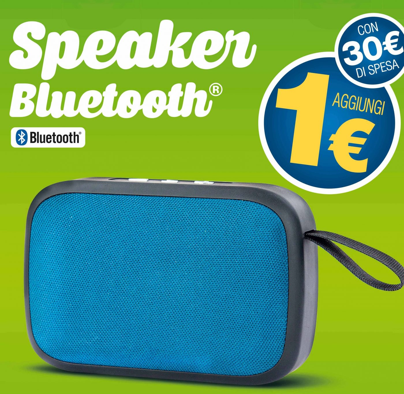 Eurospin Speaker Bluetooth 1 euro