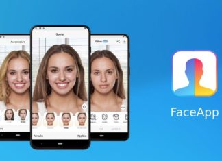 Filtro vecchiaia foto con FaceApp