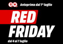 "MediaWorld ""Red Friday"" Luglio 2019"