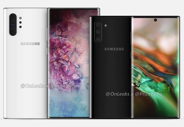 Samsung Galaxy Note 10 anteprima