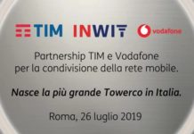 Vodafone e TIM uniscono le antenne per il 5G
