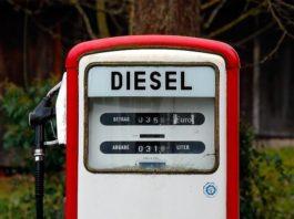 Aumento accise Diesel dal 2020