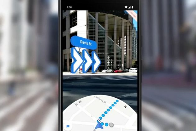 Google Maps in realtà aumentata