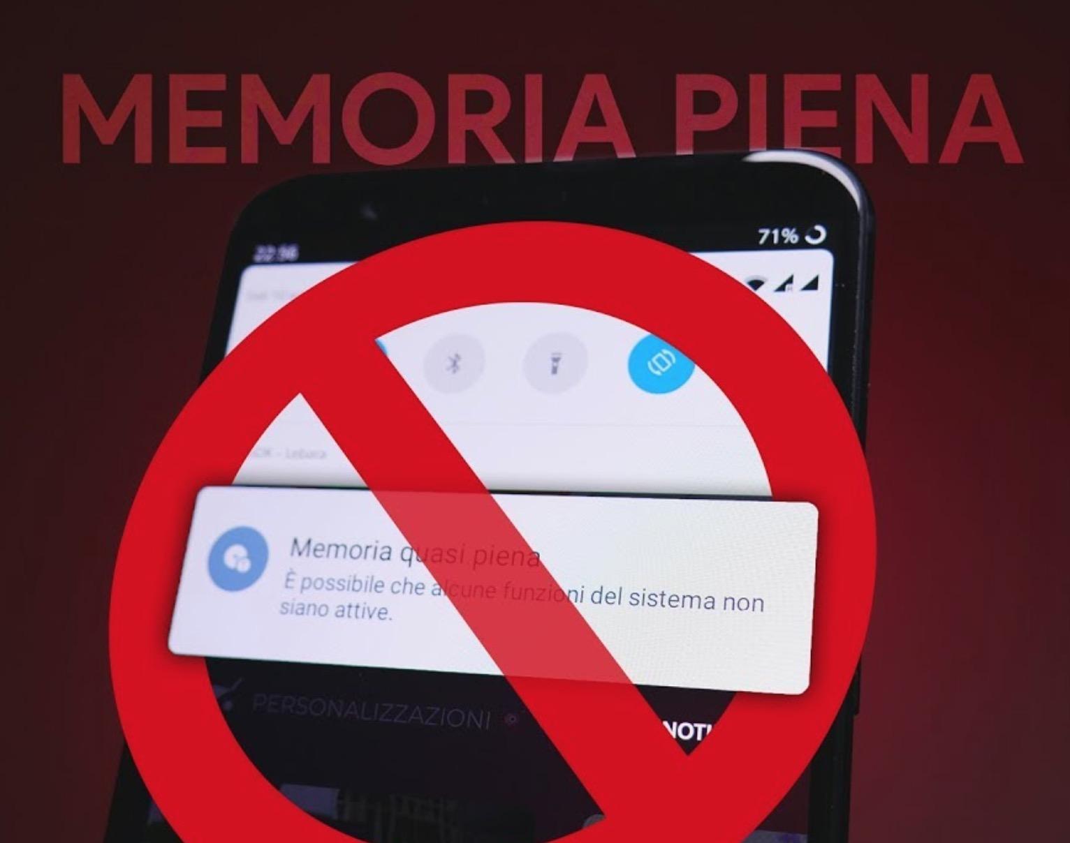 Memoria piena Android