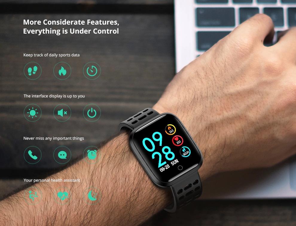 Smartwatch Lenovo E1 1