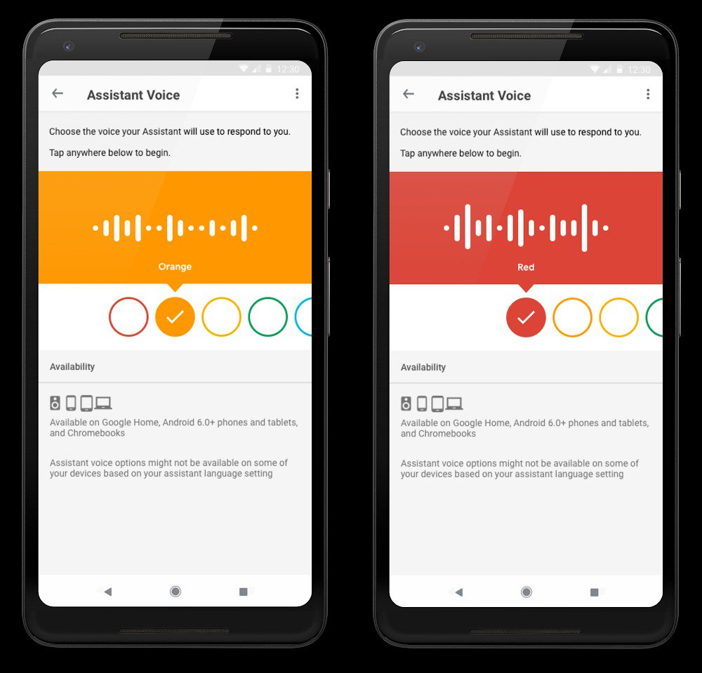 Cambiare voce Google Assistant