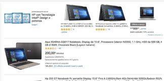 Computer Portatili Amazon