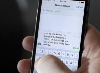 Invio SMS anonimi