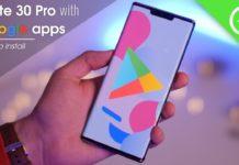 Play Store su Huawei Mate 30 Pro