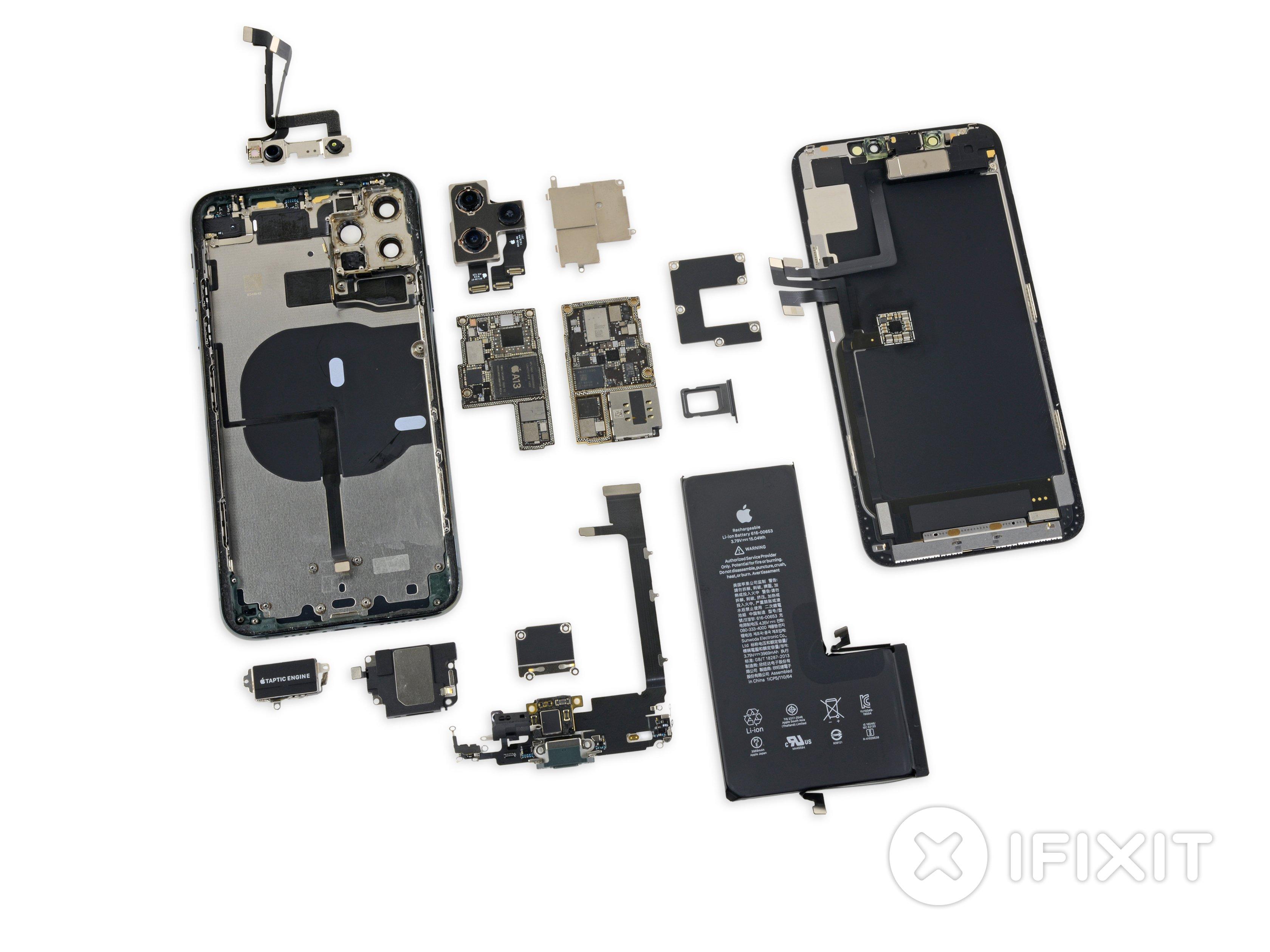 Sfondo Interno E Raggi-X iPhone 11, 11 Pro, e 11 Pro Max