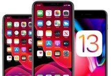 iOS 13 installazione