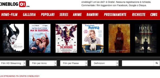 Cineblog01 senza registrazione
