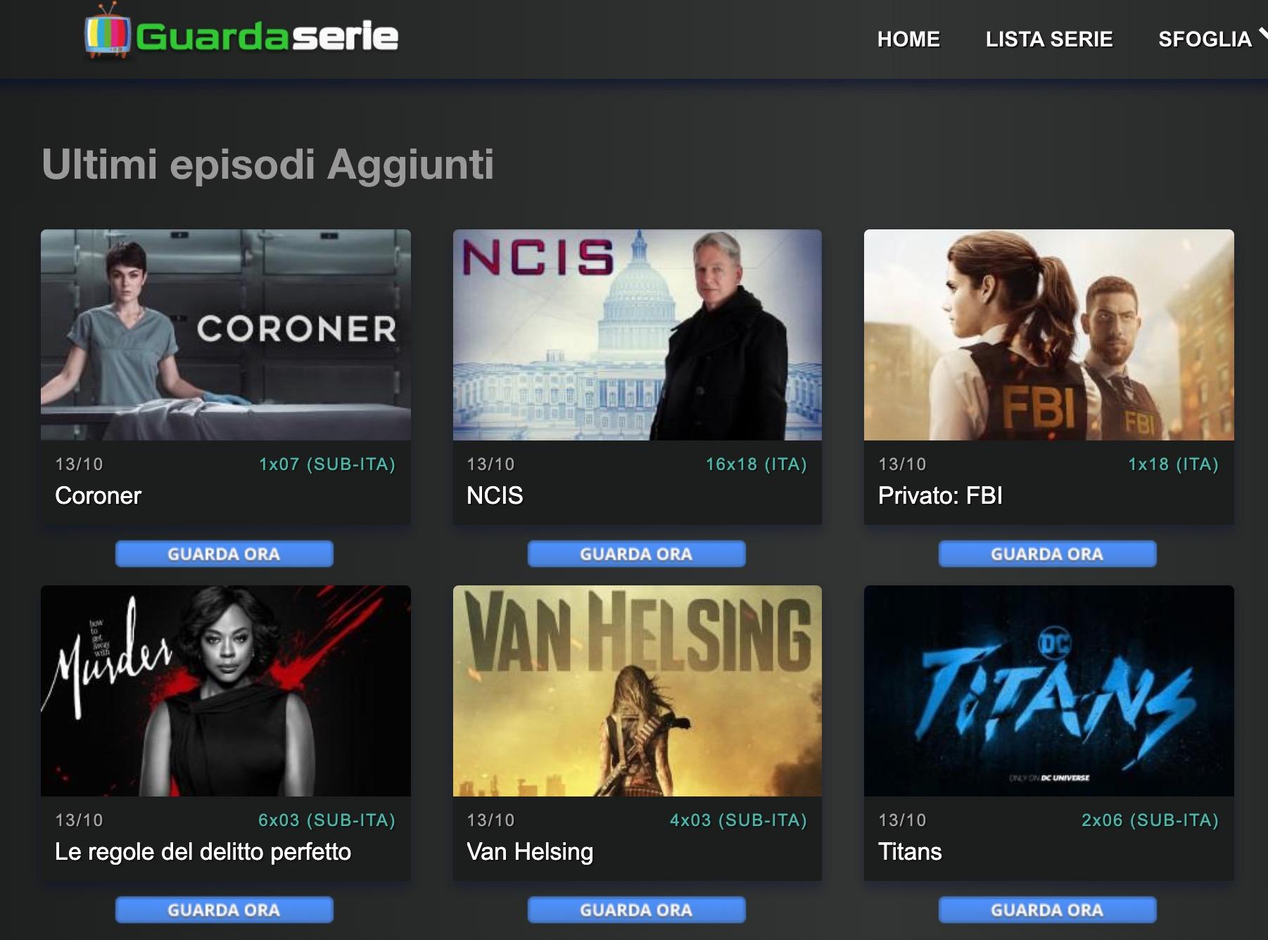 Come vedere serie tv su GuardaSerie senza registrarsi