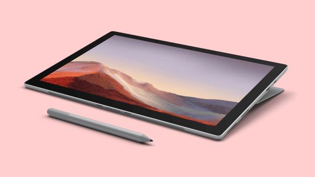 Ecco Microsoft Surface Pro 7