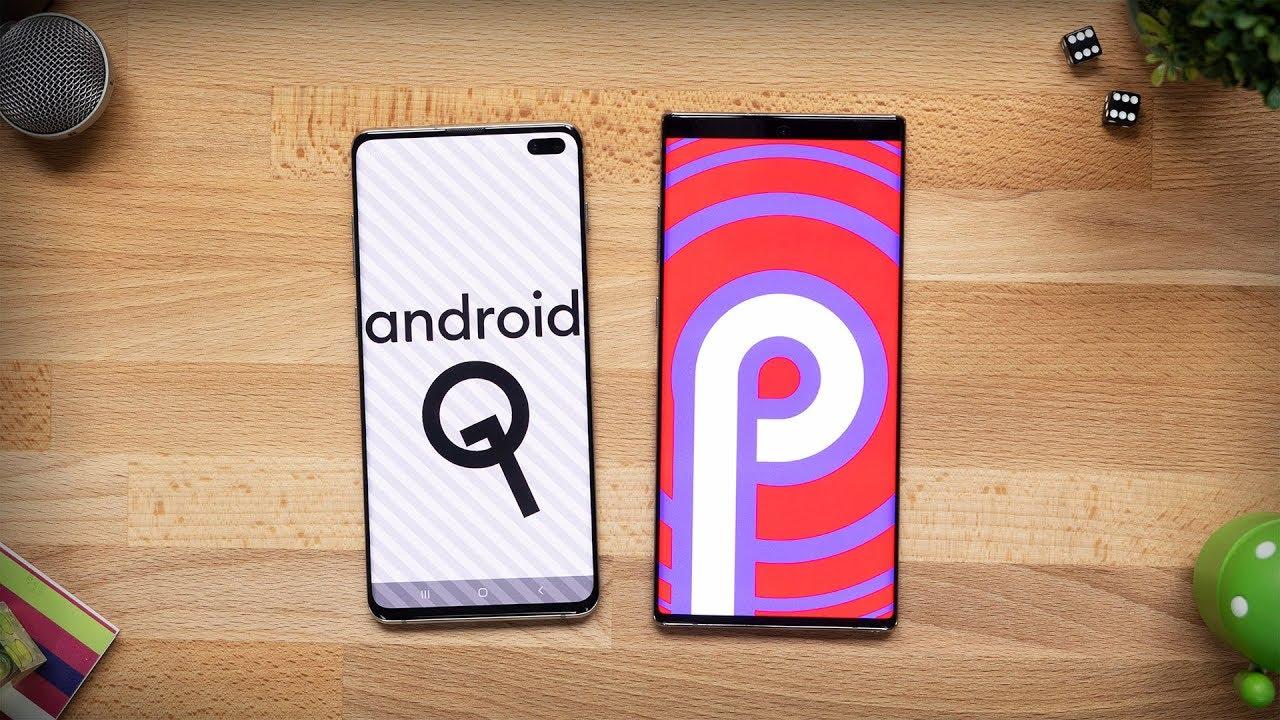 Novità Android 10 su Galaxy S10