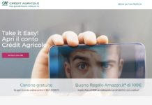 Buono Amazon Credit Agricole