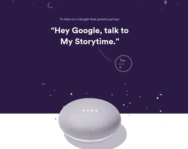 Google Assistant legge storie